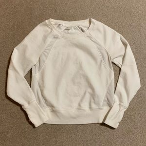 Old Navy Active White Sweatshirt